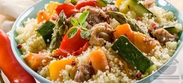 Кус-кус гарнир с овощами