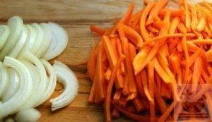 Морковь и лук