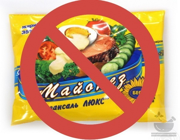 Запрет майонеза