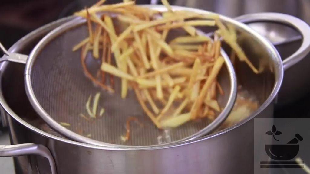Готовим картошку фри