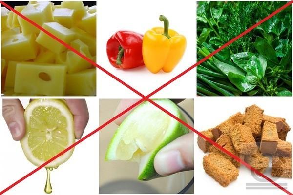 Продукты которые не должны быть в греческом салате