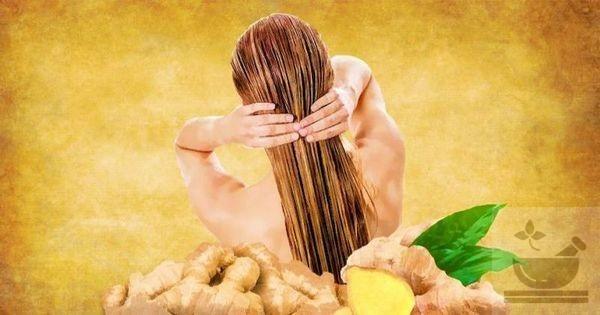 Имбирный корень для волос