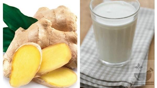 Йогурт с добавлением имбиря