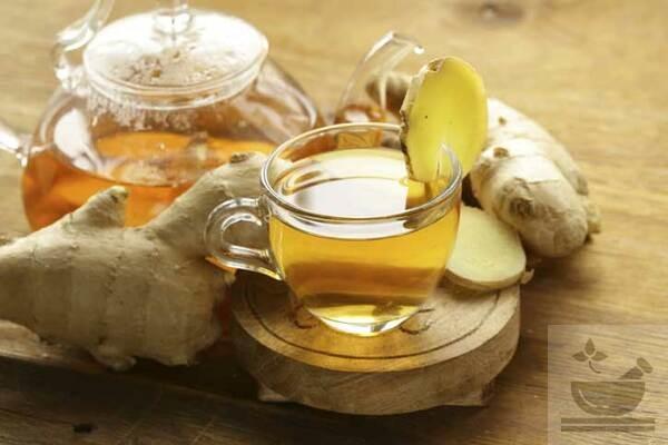 Лечебный чай из имбиря