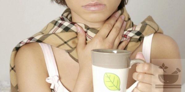 Эфирное масло при болях в горле