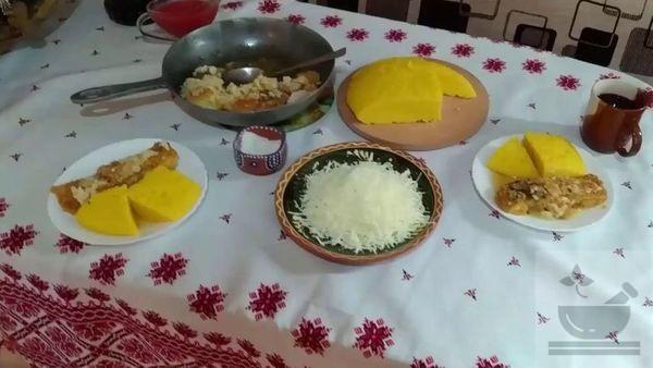 Молдавский ужин
