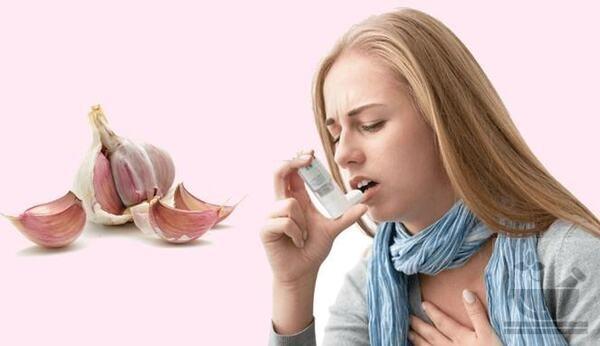 Чеснок при астме