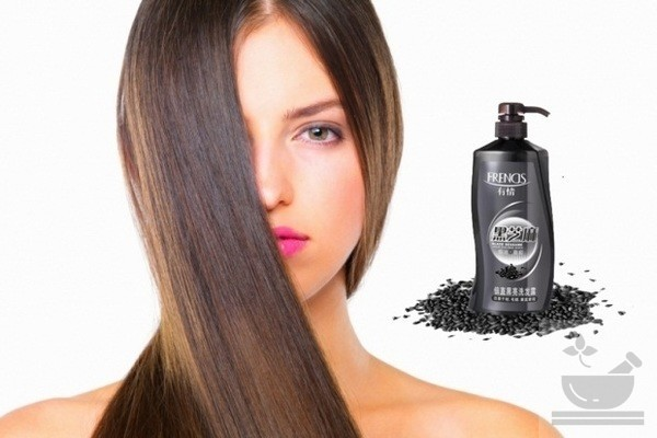 Кунжут для волос