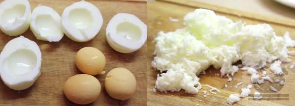 Разделываем яйца