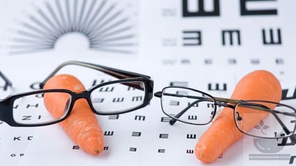 Морковь и зрение