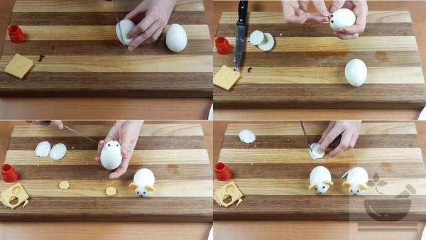 Изготовляем декор из яиц