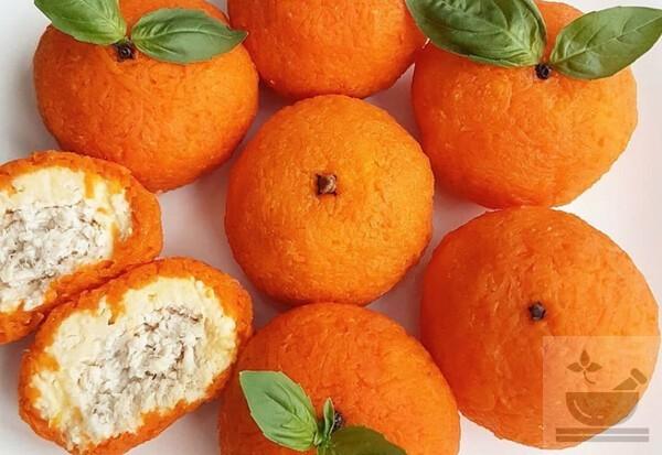 Салат «Мандаринка» рецепт