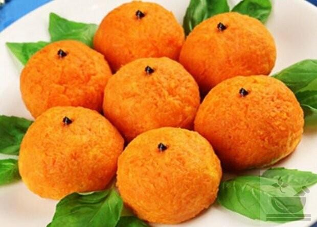 Салат мандаринка рецепт с фото