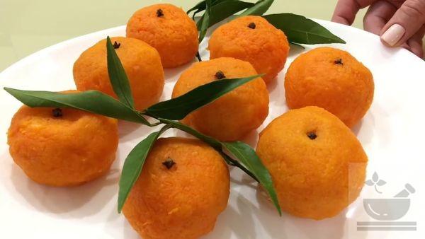 Салат-закуска мандаринка