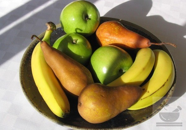Клетчатка в фруктах