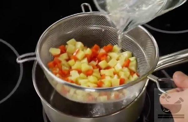 Охлаждаем овощи