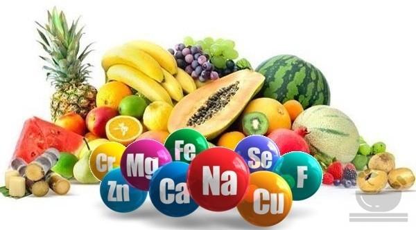 Микроэлементы в фруктах