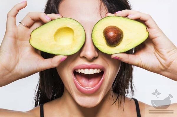 Авокадо для глаз