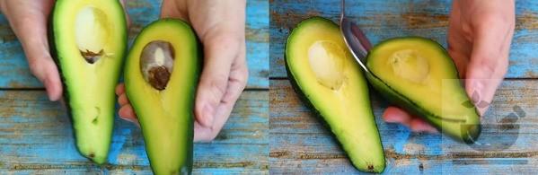 Подготавливаем авокадо