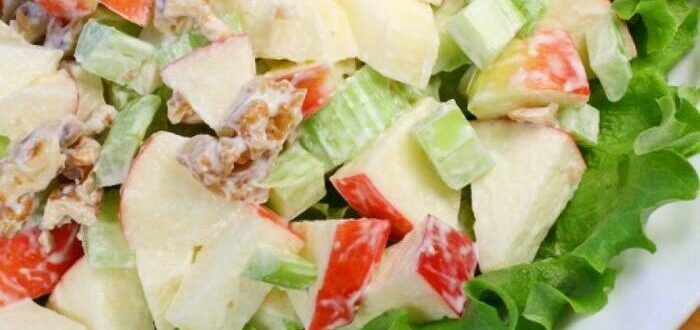 Вальдорфский салат классический рецепт