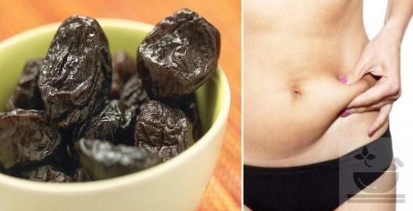Чернослив способствует похудению