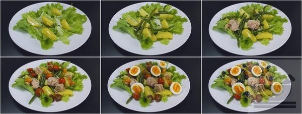 Собираем салат Нисуаз