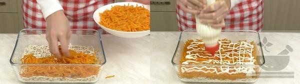 Морковь в салате