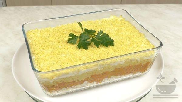 Приготовление салата Бунито
