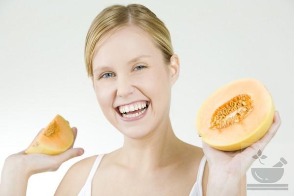 Польза дыни для женского здоровья