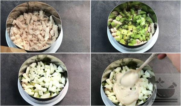 """Приготовление салата """"Африка"""""""