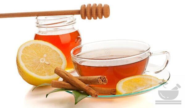 Корица и лимон в чае
