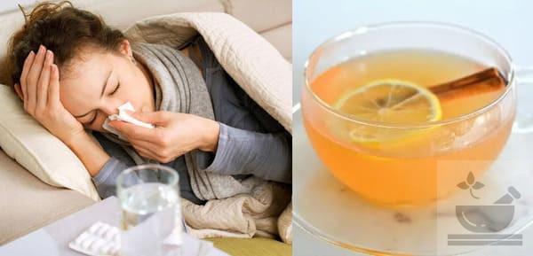 Коричный чай от простуды