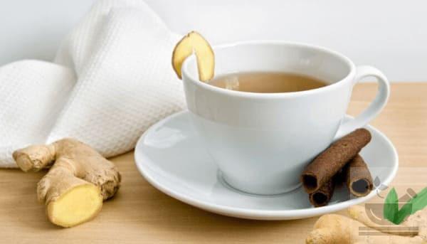 Имбирный чай с корицей