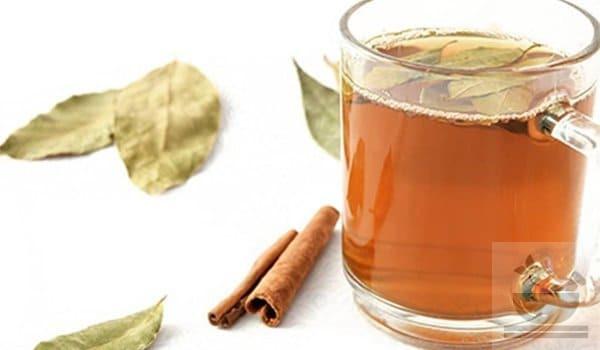 Чай корица и лавровый лист