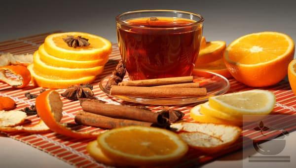 Чай корица с гвоздикой