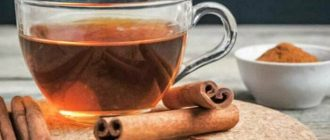 Чай с корицей польза