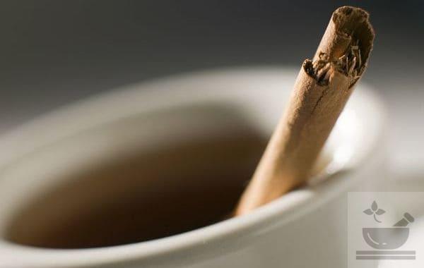 Коричный чай