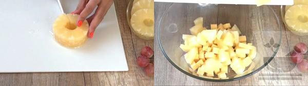 Нарезка ананаса