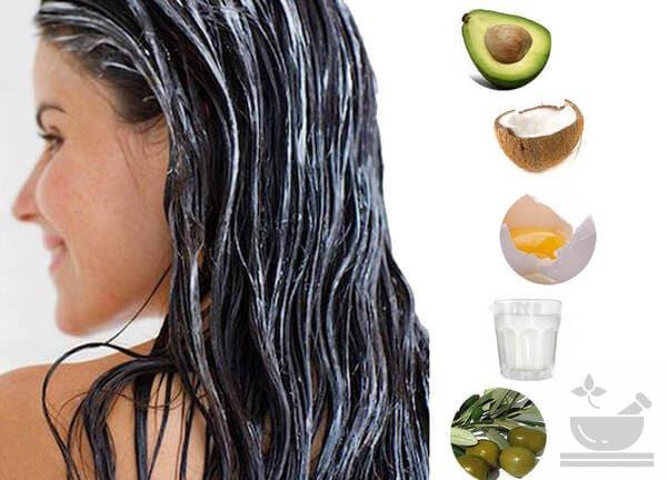 Маски с авокадо для волос