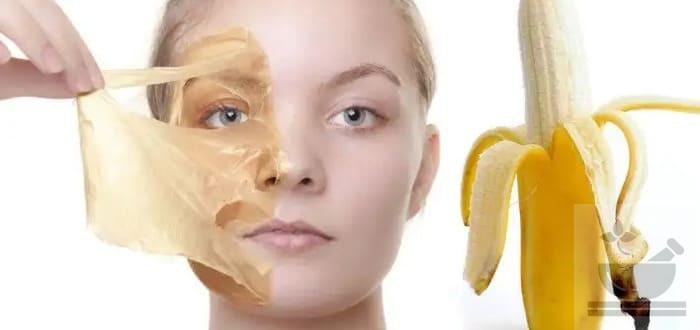 Банан польза для кожи