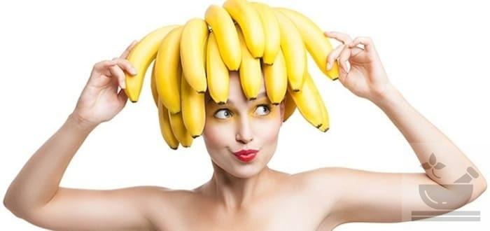 Банан польза для волос
