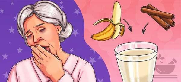 Банановый чай, как снотворное