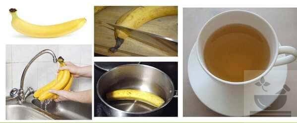 Как заварить банановый чай