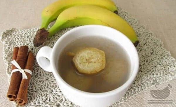 Чай из банана польза