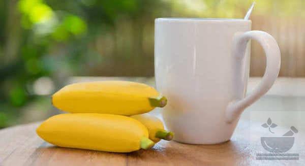 Чай из банана